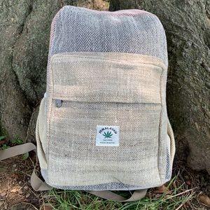 Brand new Unisex hemp backpack.